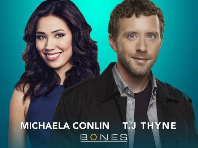 Michaela Conlin & T.J Thyne