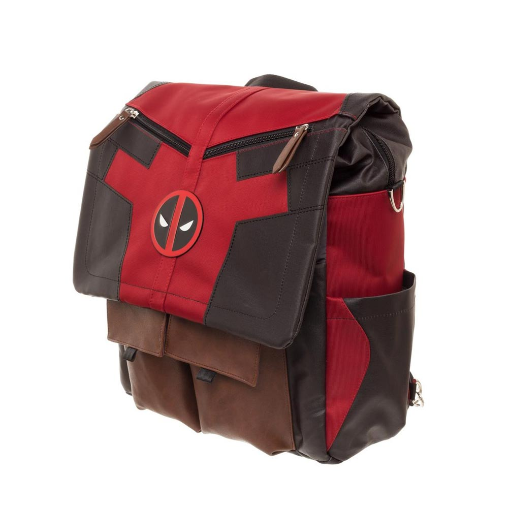 Deadpool - Costume Inspired Convertible Backpack - ZoltanGal b0cdd7616f1f2