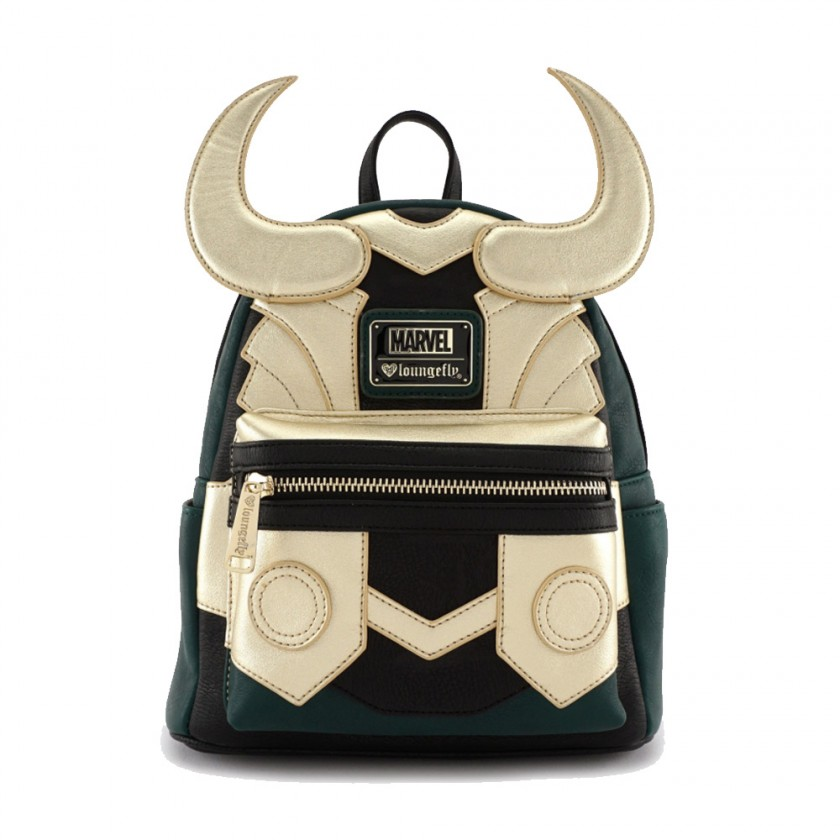 Marvel - Loki Cosplay Mini Backpack by Loungefly Canada - ZoltanGal 72bacdafca8fe