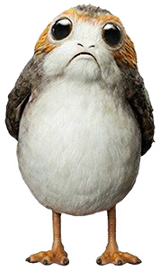 Star Wars The Last Jedi Porg Plush Backpack by Loungefly Canada