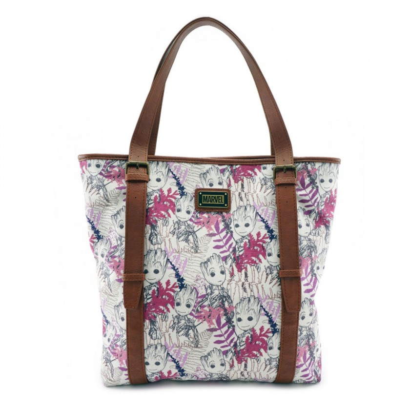 f7597ff506f Marvel - Guardians of the Galaxy Groot Leaves Tote by Loungefly ...