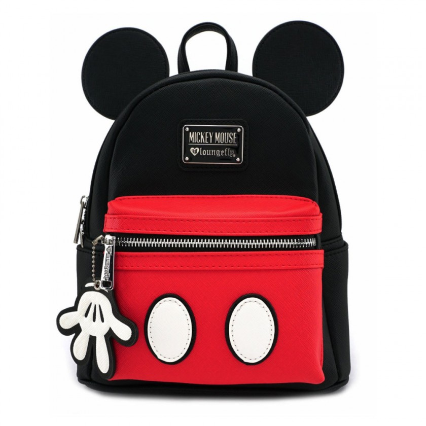 Disney - Mickey Mouse Suit Mini Saffiano Faux Leather Backpack by ... bf7c176612b3d
