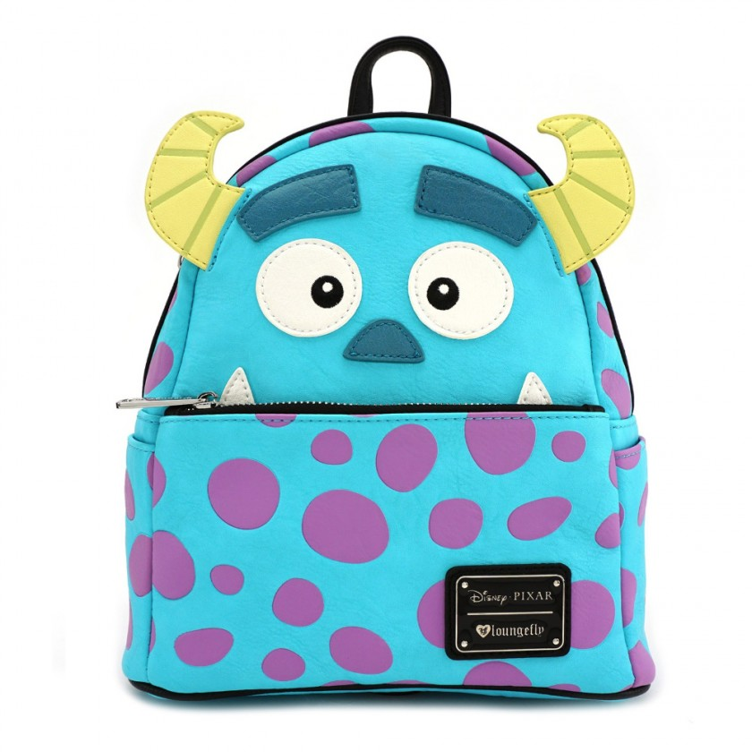 Disney - Monsters Inc. Sulley Mini Faux Leather Backpack by ... 2b4b0f6004418