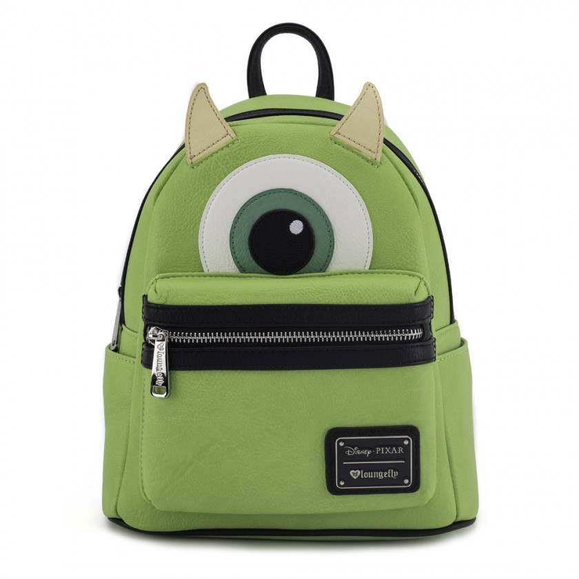 Disney - Monsters Inc. Mike Mini Faux Leather Backpack by Loungefly ... 87c1a8c9fdc3d