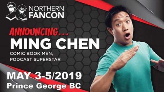 Ming Chen - Comic Book Men, Podcast Superstar