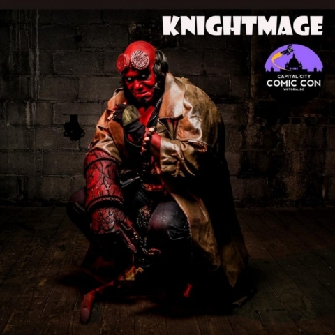 """Michael """"Knightmage"""" Wilson is an award-winning cosplayer, actor, spokesperson, charity worker and been noted as one of the most influential male cosplayers in the world."""