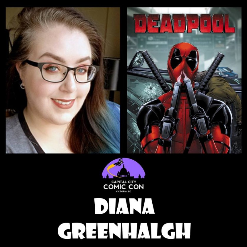 Diana Greenhalgh - created movie posters for major studio films (Deadpool, X-Men: Apocalypse)