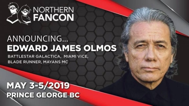 Edward James Olmos - Battlestar Galactica, Blade Runner, Miami Vice, Agents of S.H.I.E.L.D., Dexter, West Wing and a tonne more!