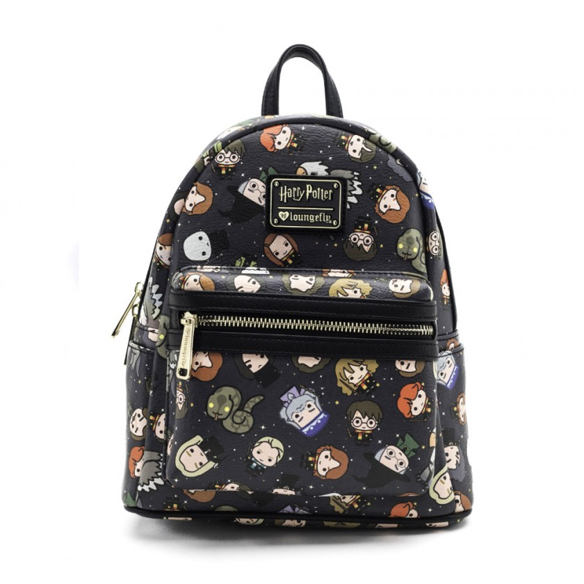 Harry Potter Chibi Character Print Mini Backpack by Loungefly Canada 520341abffaa9