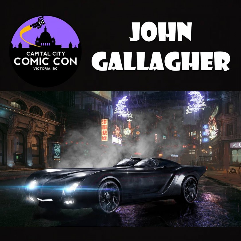 John Gallagher - BioWare, Once Upon A Time, Falling Skies