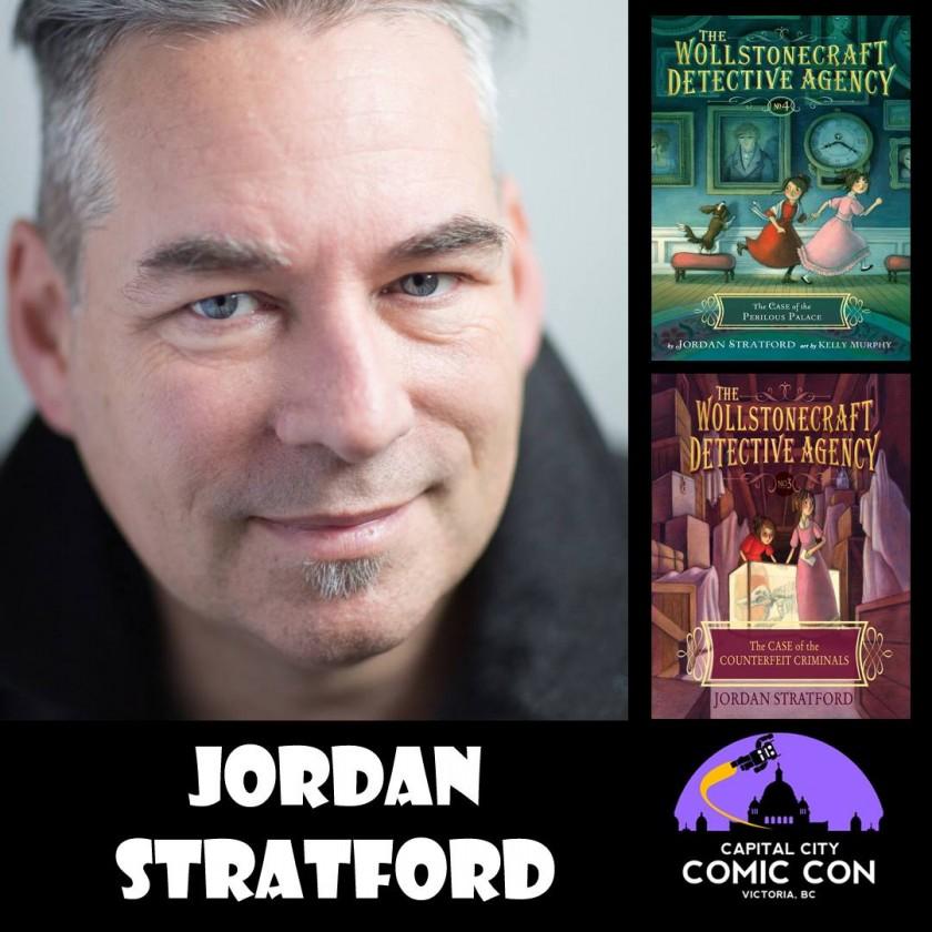 Jordan Stratford - author of the Wollstonecraft Detective Agency series