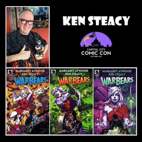 Ken Steacy - Local Creator Guest