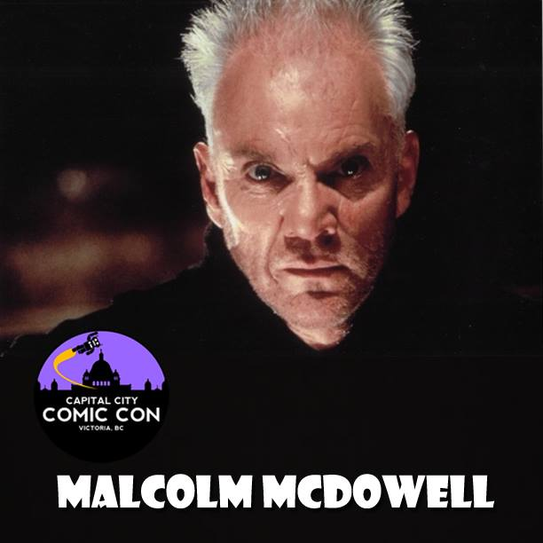 Malcolm McDowell - Clockwork Orange, Star Trek, Silent Hill: Revelation, Rob Zombie's Halloween and TONNES of other great things!!