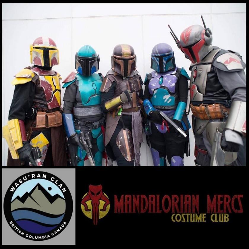Mandalorian Mercs Costume Club