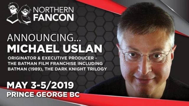 Michael Uslan - originator & executive producer of the Batman movie franchise