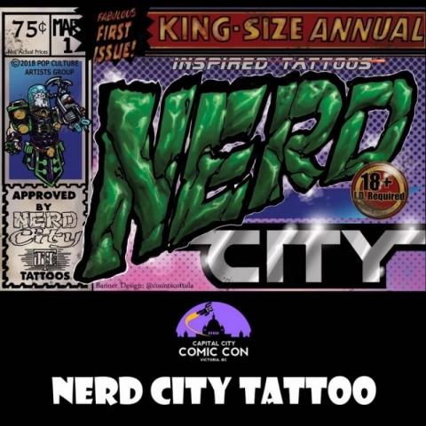 Nerd City Tattoo!