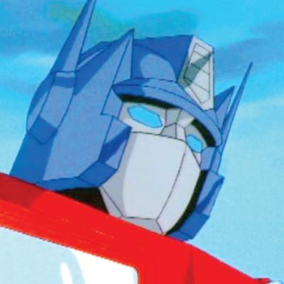 Peter Cullen - Optimus Prime in the original 1980s Transformers animated series,