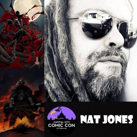 Nat Jones - award winning artist and writer