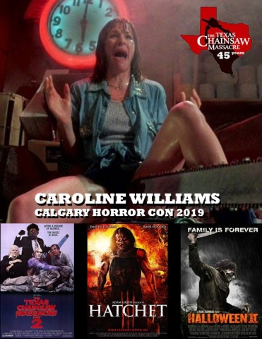 Caroline Williams - Texas Chainsaw Massacre, Rob Zombie's Halloween II, Hatchet III, Sharknado 4