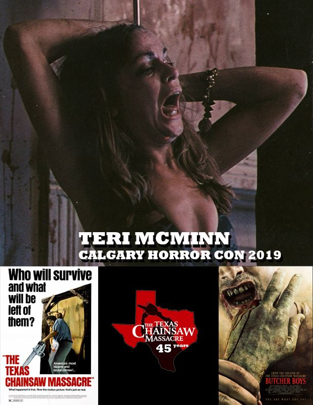 Teri McMinn - Texas Chainsaw Massacre, Butcher Boys, The Cellar