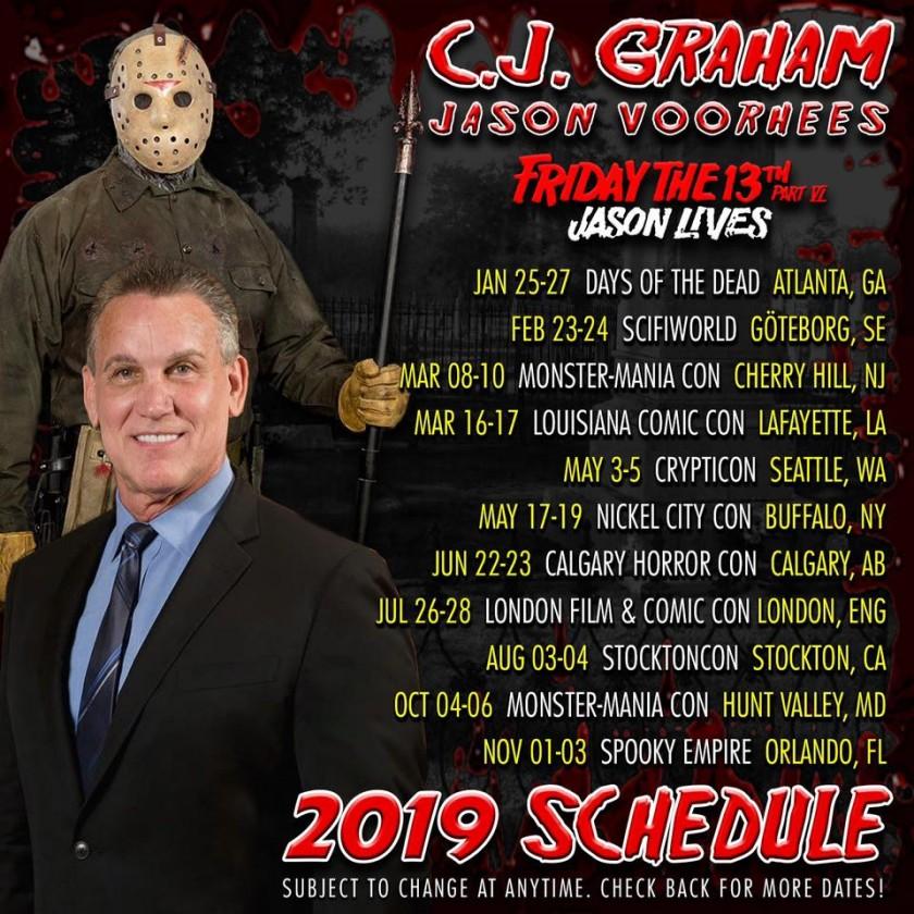 C.J. Graham - Jason VI