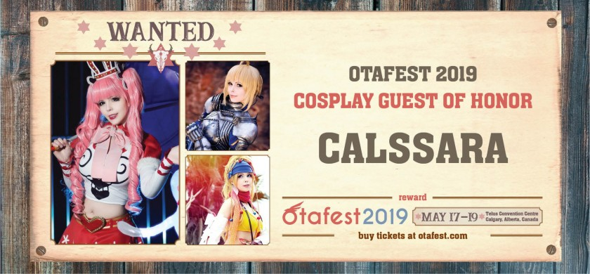 Calssara - International award-winning cosplayer - Guest of honor
