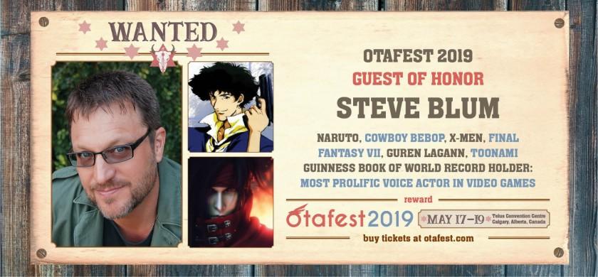 Steve Blum - Cowboy Bebop, X-Men, Final Fantasy VII, Naruto