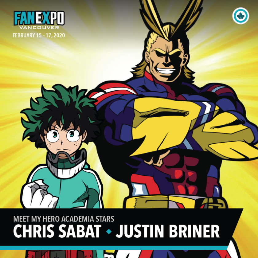Chris Sabat and Justin Briner