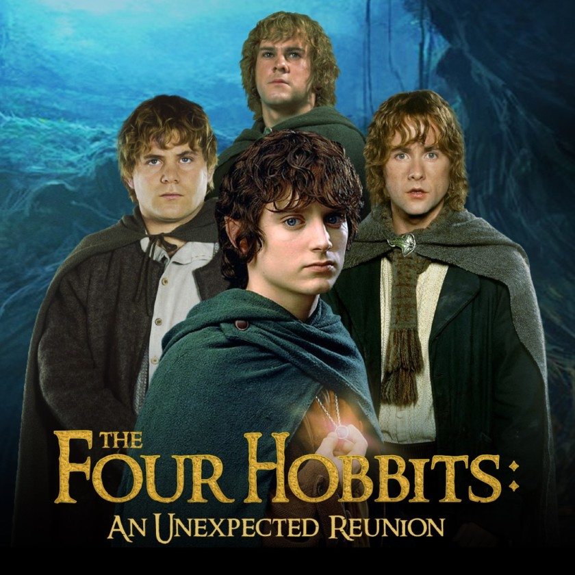 Elijah Wood, Sean Astin, Dominic Monaghan, Billy Boyd