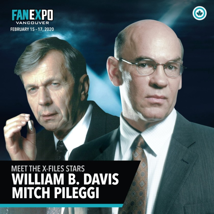 Mitch Pileggi & William B. Davis