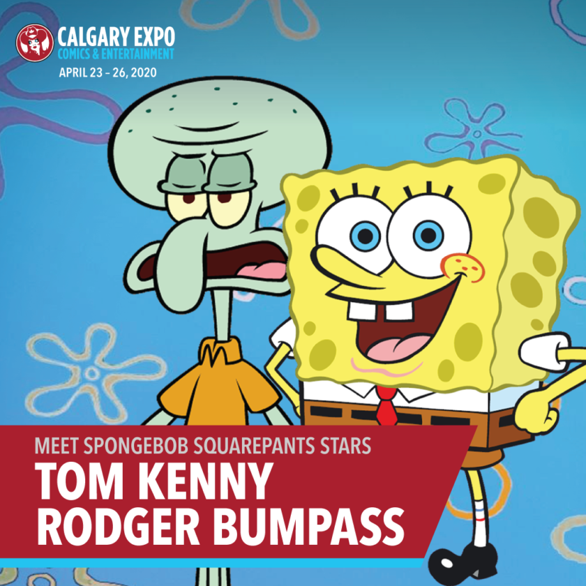 SpongeBob Squarepants' Tom Kenny & Rodger Bumpass
