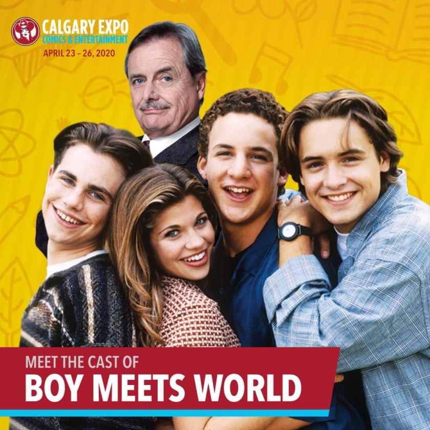 Boy Meets World - Rider Strong, Danielle Fishel, Ben Savage, Will Friedle, William Daniels